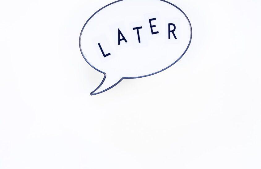 El arte de procrastinar